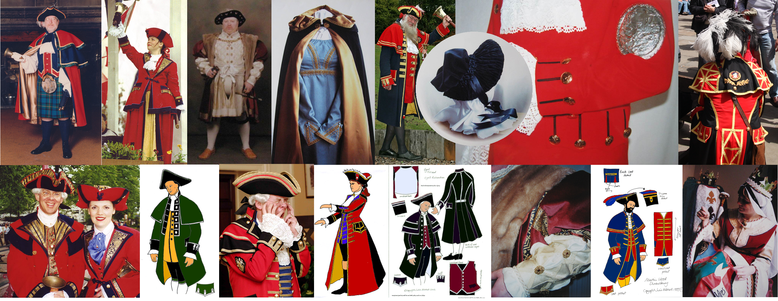 「town crier costume」の画像検索結果
